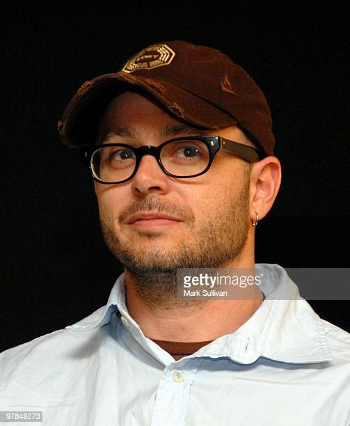 Cocreator Damon Lindelof attends the Lost 'Meet the Creator' event at Apple Store Third Street Promenade on March 18 2010 in Santa Monica California