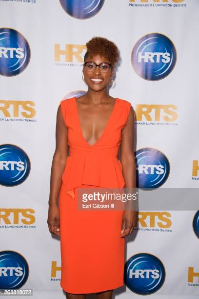 CoCreator Executive Producer Issa Rae attends HRTS Hosts Annual Hitmakers Luncheon at The Beverly Hilton Hotel on October 31 2017 in Beverly Hills...