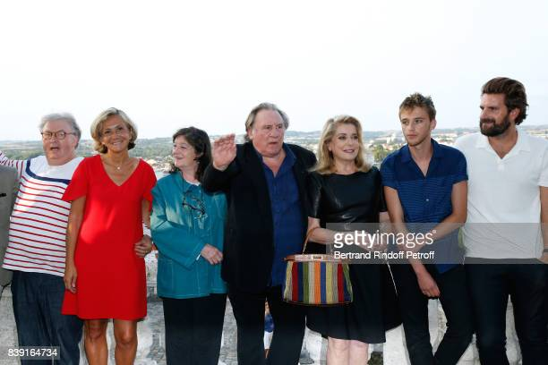 Cocreator of the Festival Dominique Besnehard Valerie Pecresse director Florence Quentin actors Gerard Depardieu Catherine Deneuve Benjamin Voisin...