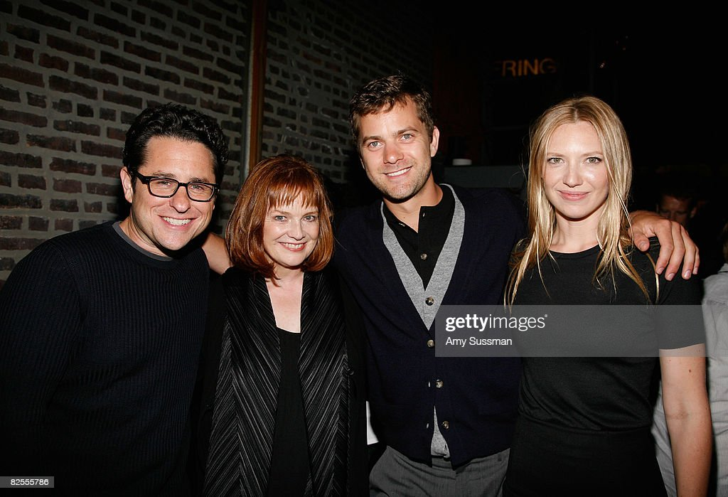 Co-Creator, Writer and Executive Producer J.J. Abrams, actress Blair Brown, actor Joshua Jackson and actress Anna Torv attend the 'Fringe' New York Premiere Party at The Xchance on August 25, 2008 in New York City.
