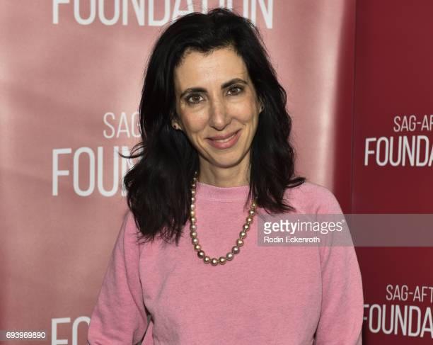 Cocreator/Executive Producer Aline Brosh McKenna attends SAGAFTRA Foundation's Conversations with 'Crazy ExGirlfriend' cast at SAGAFTRA Foundation...