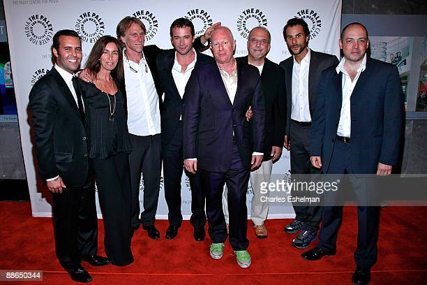 Cocreator/executive producer Charlie Corwin executive producer Teri Weinberg executive Producer/director Peter Horton actor James Purefoy consulting...