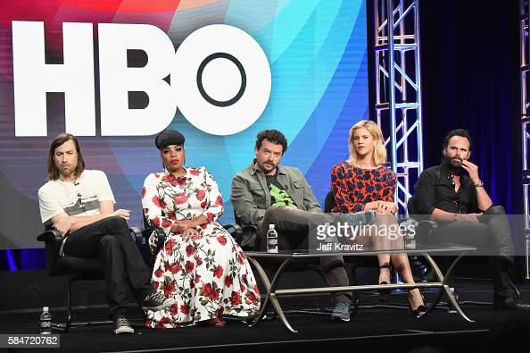 Cocreator/executive producer Jody Hill actress Kimberly Hebert Gregory Cocreator/executive producer/actor Danny McBride actors Georgia King and...
