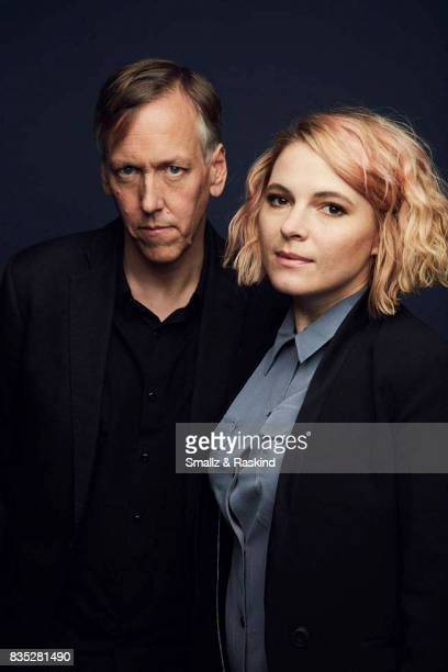 Cocreators/executive producers Amy Seimetz and Lodge Kerrigan of Starz's 'The Girlfriend Experience' pose for a portrait during the 2017 Summer...