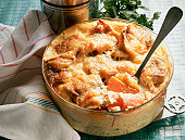 Cod au gratin with Carrots