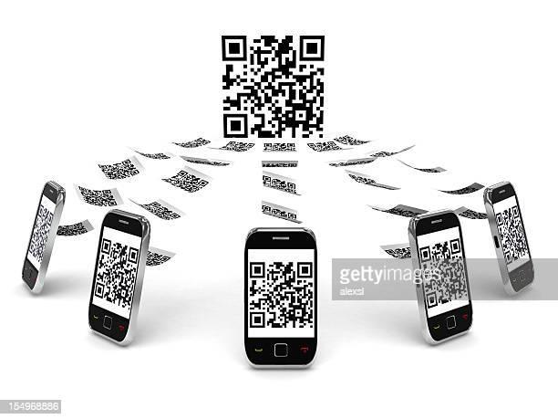 QR Code sur téléphone Mobile