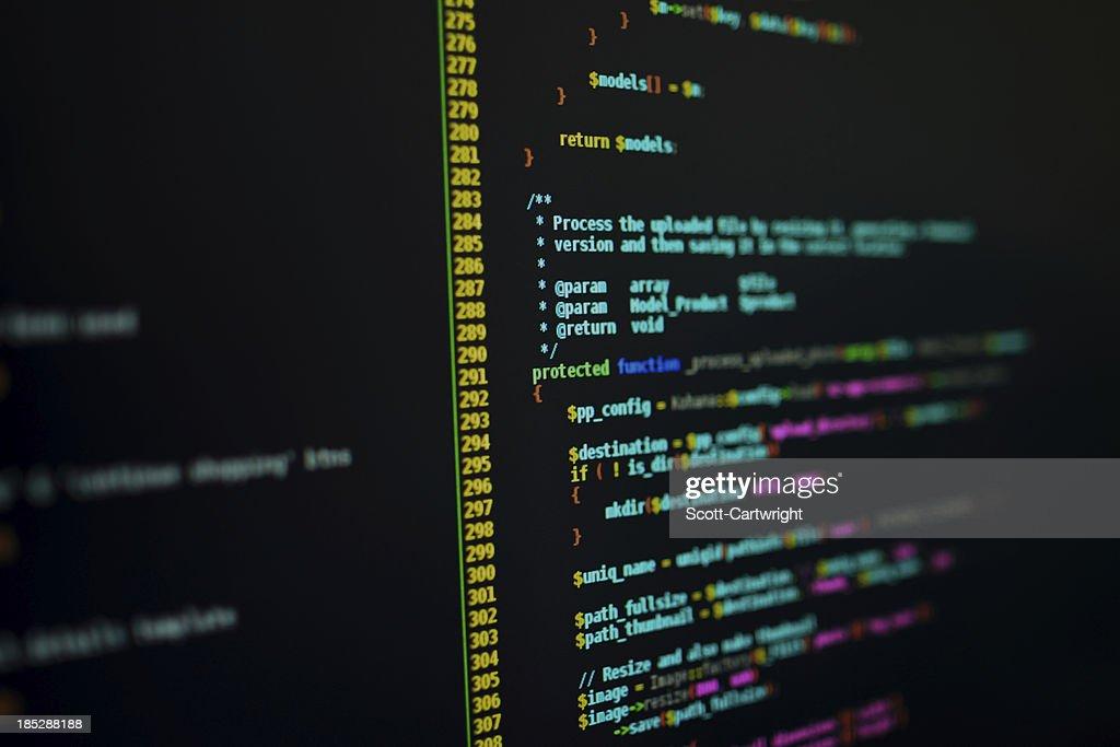 PHP Code : Stock Photo