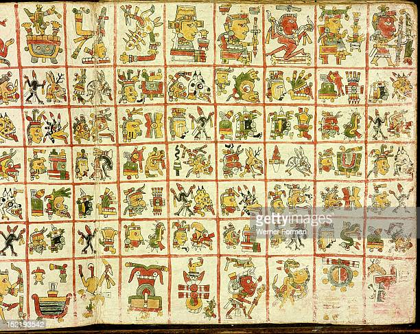 Codex Cospi Magical calendar Mexico Mixtec c 1350 1500