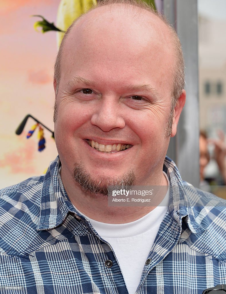 Co-director Cody Cameron arrives to the premiere of Columbia Pictures and Sony Pictures Animation's 'Cloudy With A Chance of Meatballs 2' at the Regency Village Theatre on September 21, 2013 in Westwood, California.