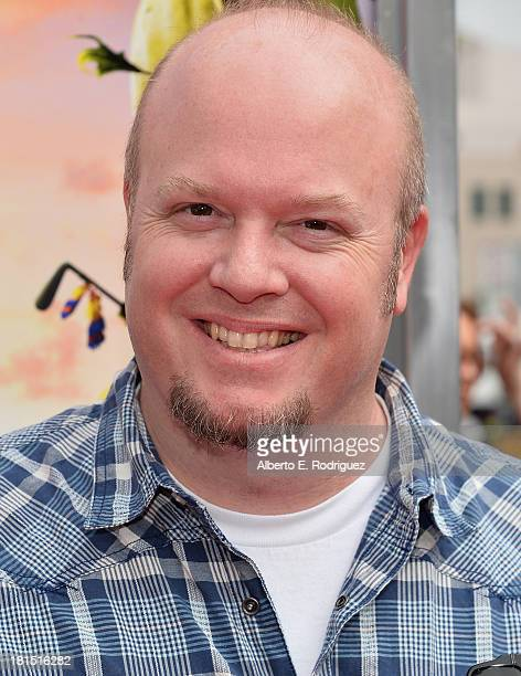 Codirector Cody Cameron arrives to the premiere of Columbia Pictures and Sony Pictures Animation's 'Cloudy With A Chance of Meatballs 2' at the...