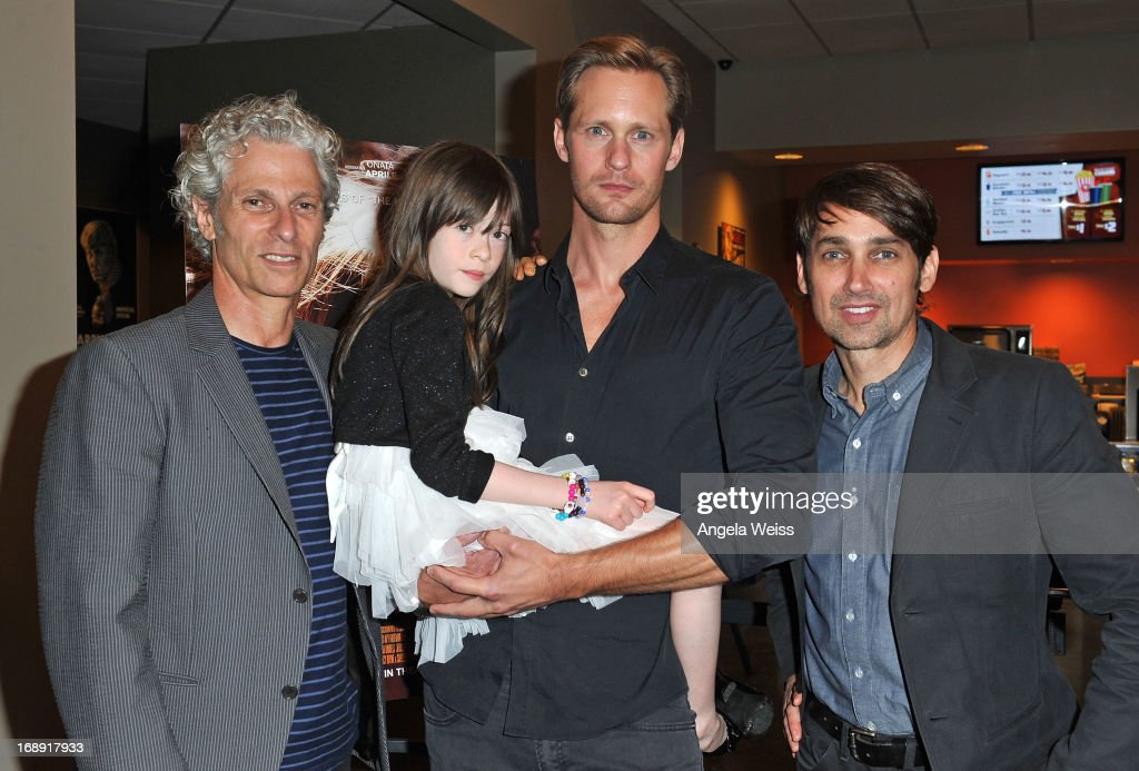 Co-director David Siegel, actors Onata Aprile and Alexander Skarsgard and co-director Scott McGehee attend the LA Times Indie Focus Screening of 'What Masie Knew' at Laemmle NoHo 7 on May 16, 2013 in North Hollywood, California.