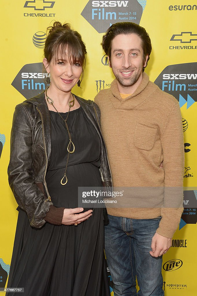Co-director Jocelyn Towne and actor/co-director <a gi-track='captionPersonalityLinkClicked' href=/galleries/search?phrase=Simon+Helberg&family=editorial&specificpeople=3215017 ng-click='$event.stopPropagation()'>Simon Helberg</a> attend the 'We'll Never Have Paris' premiere during the 2014 SXSW Music, Film + Interactive Festival at the Topfer Theatre at ZACH on March 10, 2014 in Austin, Texas.