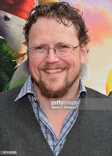 Codirector Kris Pearn arrives to the premiere of Columbia Pictures and Sony Pictures Animation's 'Cloudy With A Chance of Meatballs 2' at the Regency...