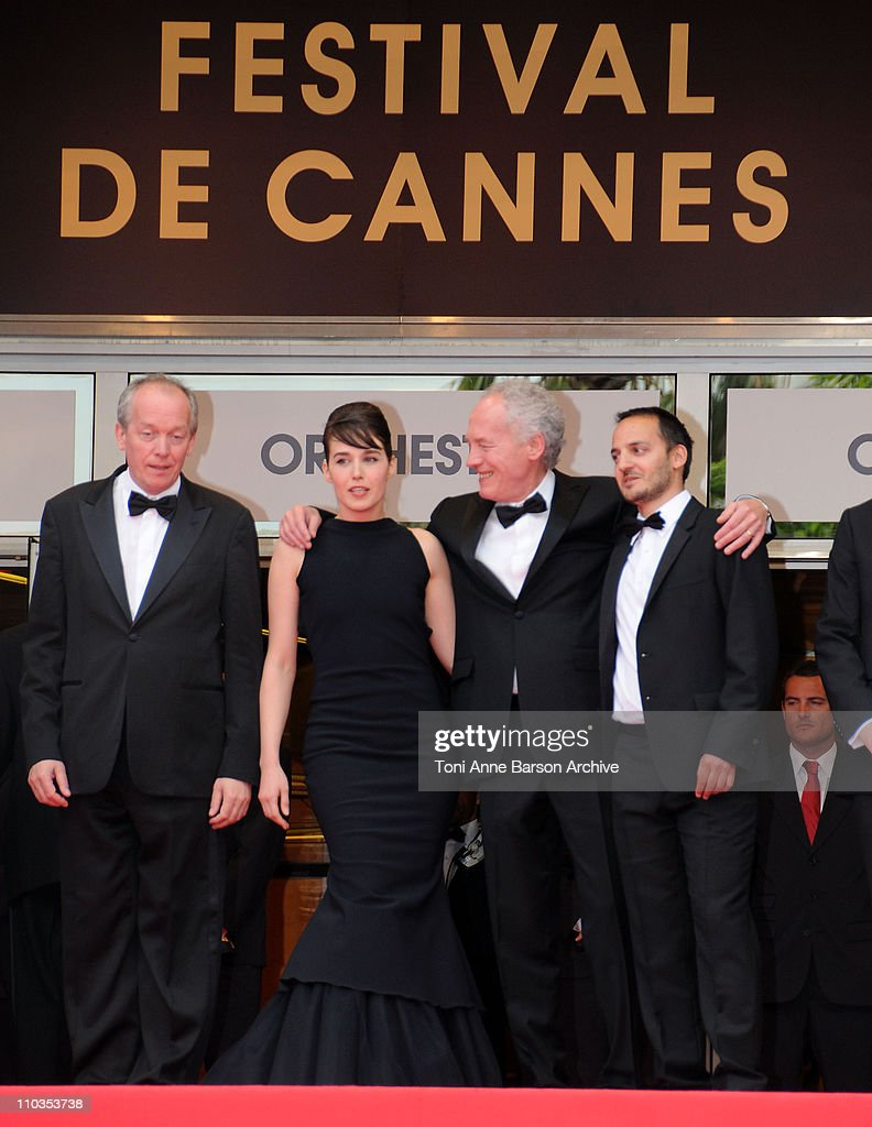 Co-director <a gi-track='captionPersonalityLinkClicked' href=/galleries/search?phrase=Luc+Dardenne&family=editorial&specificpeople=215507 ng-click='$event.stopPropagation()'>Luc Dardenne</a>, actress <a gi-track='captionPersonalityLinkClicked' href=/galleries/search?phrase=Arta+Dobroshi&family=editorial&specificpeople=5349596 ng-click='$event.stopPropagation()'>Arta Dobroshi</a>, co-director <a gi-track='captionPersonalityLinkClicked' href=/galleries/search?phrase=Jean-Pierre+Dardenne&family=editorial&specificpeople=606914 ng-click='$event.stopPropagation()'>Jean-Pierre Dardenne</a> and actor <a gi-track='captionPersonalityLinkClicked' href=/galleries/search?phrase=Jeremie+Renier&family=editorial&specificpeople=238897 ng-click='$event.stopPropagation()'>Jeremie Renier</a> attend 'Le Silence de Lorna' premiere at the Palais des Festivals during the 61st Cannes International Film Festival on May 19, 2008 in Cannes, France.