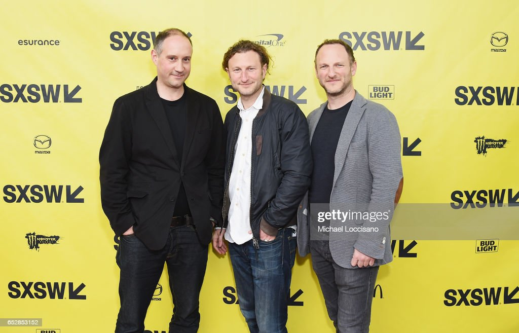 Co-Director Max Pugh, Executive Producer Nick Francis, and Co-Director Marc Francis attend the 'Walk With Me' premiere during 2017 SXSW Conference and Festivals at the ZACH Theatre on March 12, 2017 in Austin, Texas.