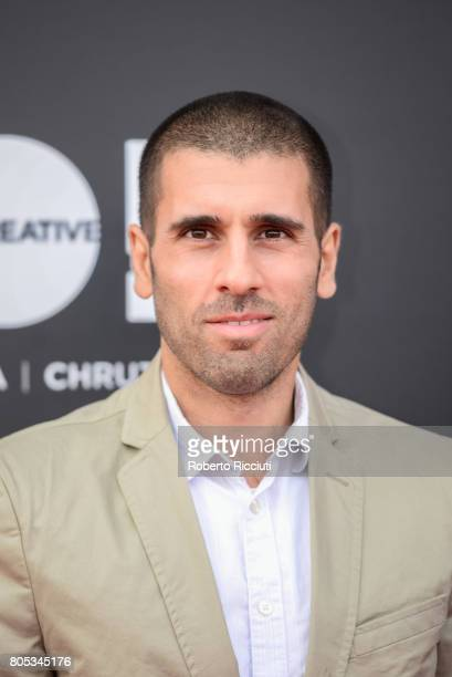Codirector Paul Shammasian attends a photocall for the projection of 'Romans' during the 71st Edinburgh International Film Festival at Cineworld on...