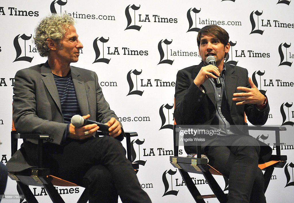 Co-directors David Siegel and Scott McGehee attend the LA Times Indie Focus Screening of 'What Masie Knew' at Laemmle NoHo 7 on May 16, 2013 in North Hollywood, California.
