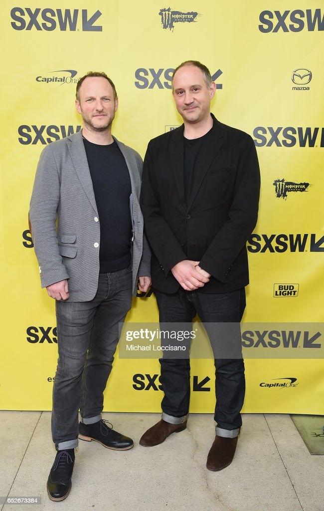 Co-Directors Marc Francis (L) and Max Pugh attend the 'Walk With Me' premiere during 2017 SXSW Conference and Festivals at the ZACH Theatre on March 12, 2017 in Austin, Texas.