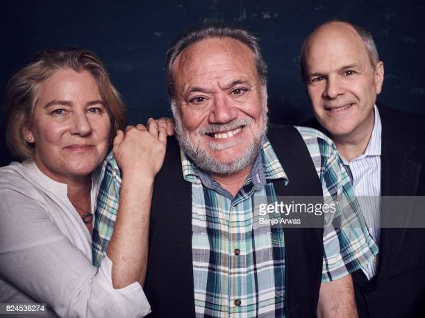 Codirectors/coproducers Karen Bernstein and Louis Black and executive producer Michael Kantor of PBS's 'American Masters Richard Linklater' pose for...