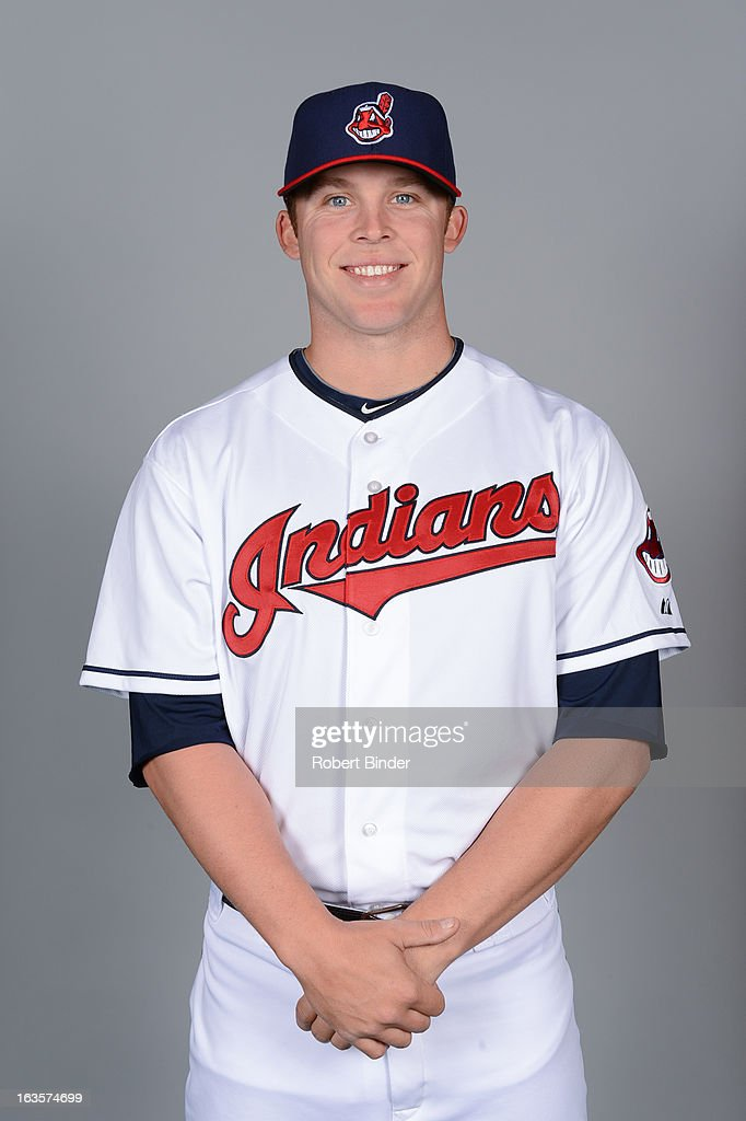 Cody Allen #37 of the Cleveland Indians poses during Photo Day on February 19, 2013 at Goodyear Ballpark in Goodyear, Arizona.