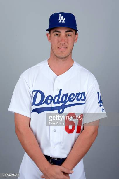 Cody Bellinger of the Los Angeles Dodgers poses during Photo Day on Friday February 24 2017 at Camelback Ranch in Glendale Arizona