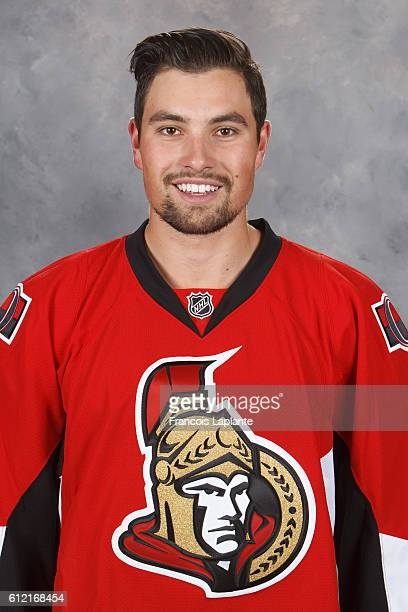 Cody Ceci of the Ottawa Senators poses for his official headshot for the 20162017 season at Canadian Tire Centre on September 22 2016 in Ottawa...