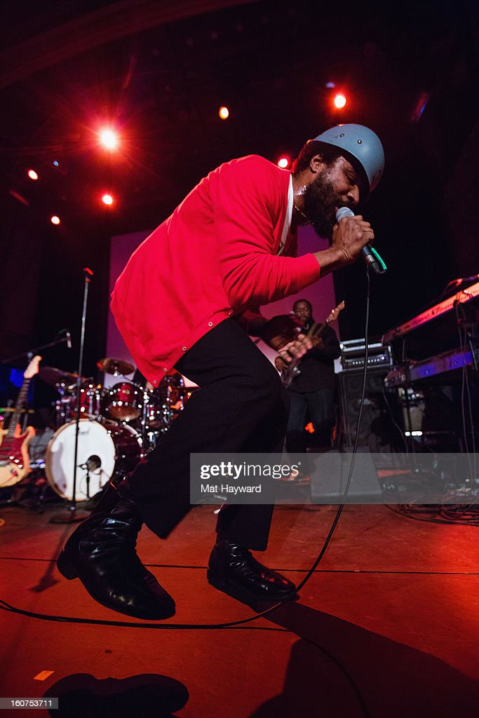 Cody Chesnutt performs at Neptune Theatre on February 4, 2013 in Seattle, Washington.