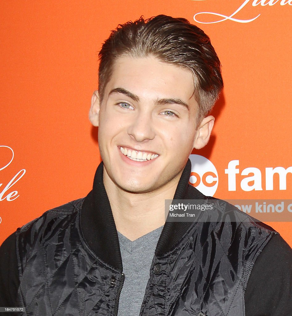 Cody Christian arrives at the 'Pretty Little Liars' celebrates Halloween episode held at Hollywood Forever on October 15, 2013 in Hollywood, California.