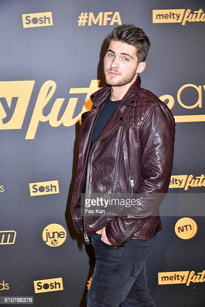 Cody Christian attends The Melty Future Awards 2016 at Le Grand Rex on February 16 2016 in Paris France