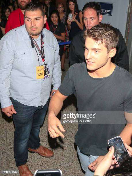 Cody Christian is seen on July 21 2017 in San Diego California