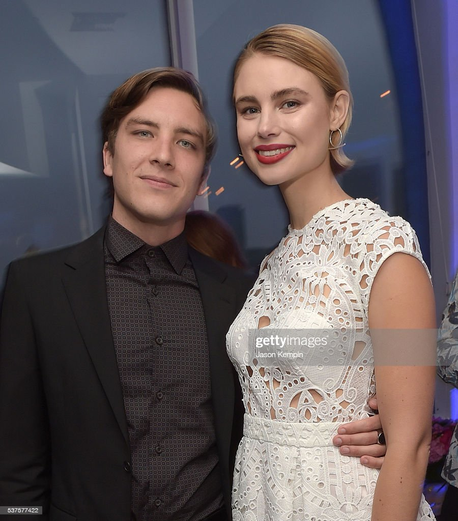 Cody Fern and Lucy Fry attend the Australians In Film Heath Ledger Scholarship Dinner at Mr C Beverly Hills on June 1 2016 in Beverly Hills California