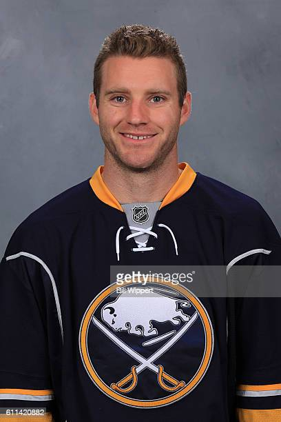 Cody Franson of the Buffalo Sabres poses for his official headshot of the 20162017 season on September 22 2016 at the KeyBank Center in Buffalo New...