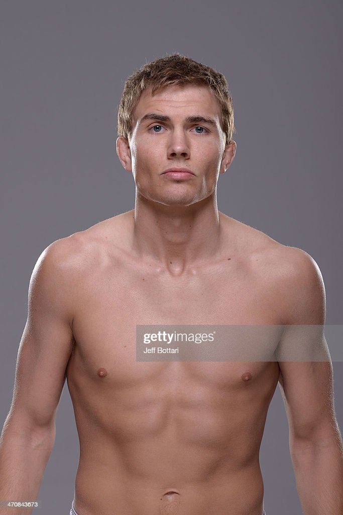 Cody Gibson poses for a portrait during a UFC photo session on February 20 2014 in Las Vegas Nevada