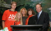 Cody Gifford Cassidy Gifford Kathie Lee Gifford Gretchen Buchenholz Founder and Executive Director to Benifit Children ABC and Frank Gifford attend...
