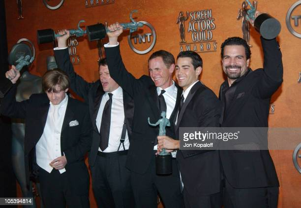 Cody Kasch Steven Culp Mark Moses Jesse Metcalf and Ricardo Antonio Chavira from the cast of 'Desperate Housewives'