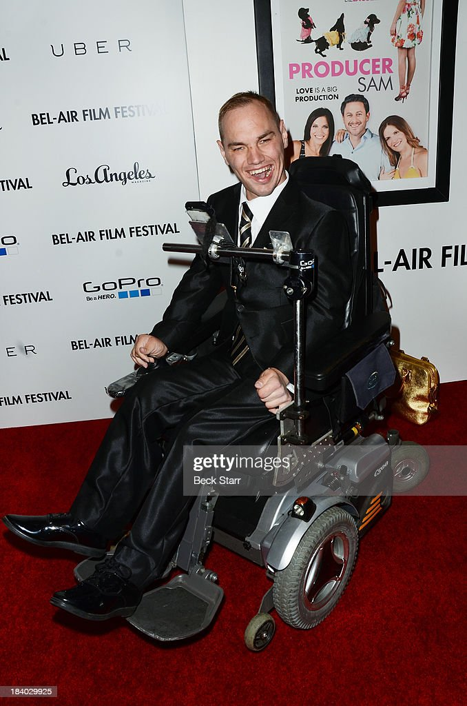 Cody Lascala arrives at the 2013 Bel-Air Film Festival Red Carpet Gala at Hammer Museum on October 10, 2013 in Westwood, California.