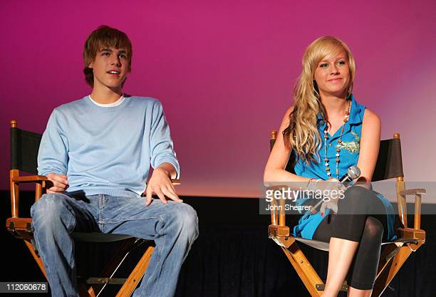 Cody Linley and Brie Larson during 'Hoot' Screening with Special Performance by Jimmy Buffett at Edwards Irvine Spectrum 21 in Irvine California...