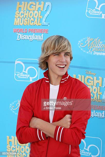 Cody Linley arrives at the premiere of the Disney Channel movie 'High School Musical 2' at downtown Disney in Anaheim