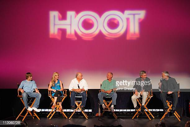 Cody Linley Brie Larson Jimmy Buffett Frank Marshall producer Carl Hiaasen novelist and Wil Shriner writer/director