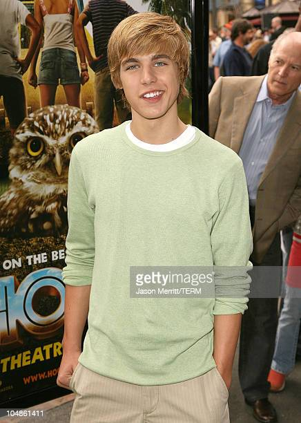 Cody Linley during 'Hoot' Los Angeles Premiere Arrivals at The Grove in West Hollywood California United States