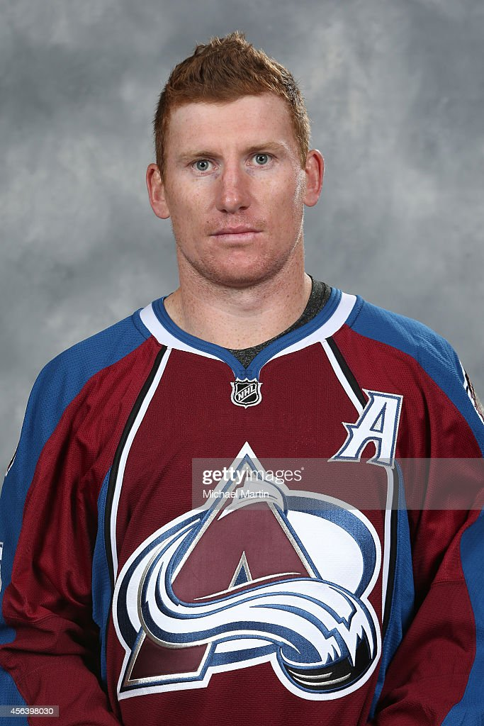 Cody McLeod of the Colorado Avalanche poses for his official headshot for the 20142015 NHL season on September 18 2014 in Denver Colorado