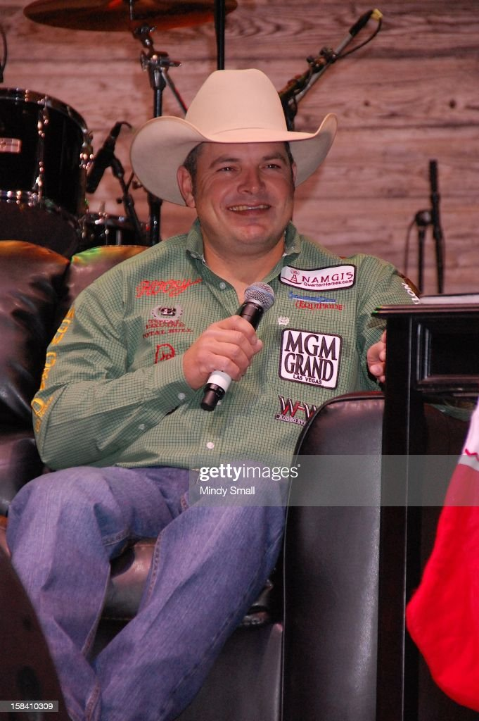 Cody Ohl appears at Cowboy FanFest during the Wrangler National Finals Rodeo at the Las Vegas Convention Center on December 15, 2012 in Las Vegas, Nevada.