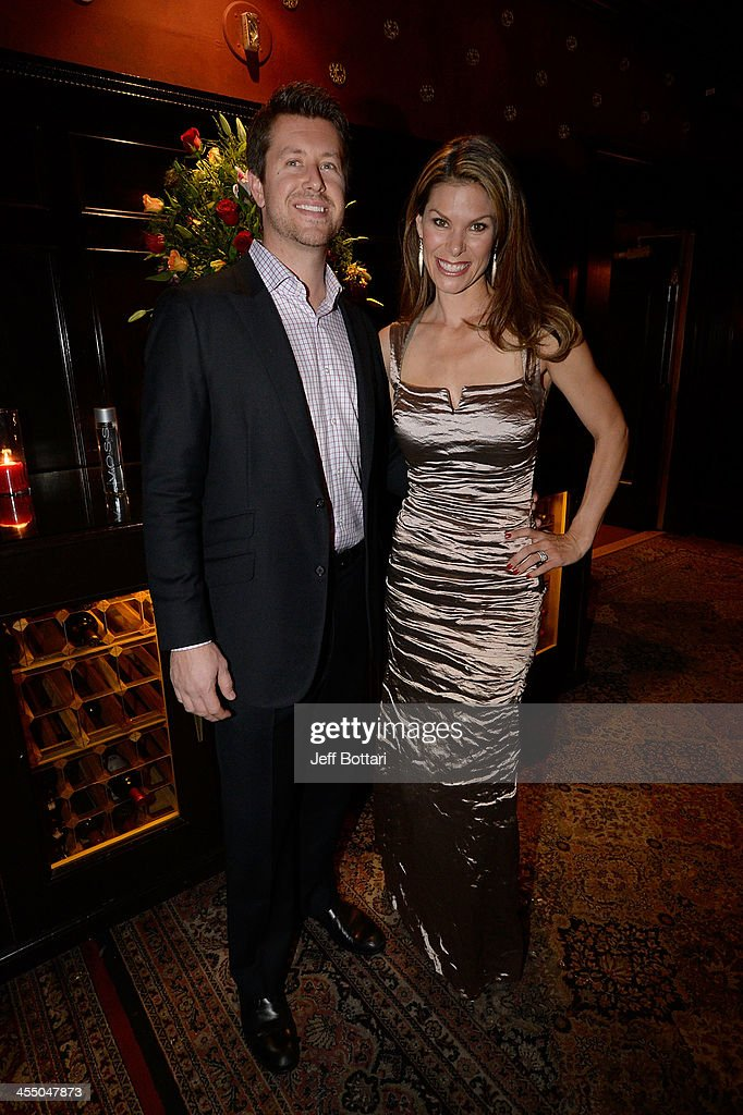Cody Selman and NASCAR reporter Jamie Little attend the Big Machine Label Group Crown Royal after party for the American Country Awards 2013 at the House of Blues Las Vegas Foundation Room inside the Mandalay Bay Resort and Casino on December 10, 2013 in Las Vegas, Nevada.