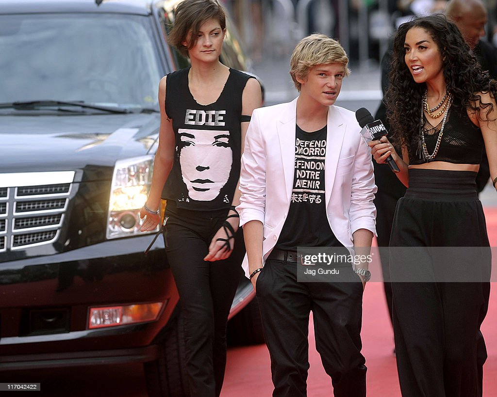 <a gi-track='captionPersonalityLinkClicked' href=/galleries/search?phrase=Cody+Simpson&family=editorial&specificpeople=7068455 ng-click='$event.stopPropagation()'>Cody Simpson</a> arrives on the red carpet at the 22nd Annual MuchMusic Video Awards at the MuchMusic HQ on June 19, 2011 in Toronto, Canada.