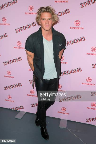 Cody Simpson attends Refinery29 29Rooms Los Angeles Turn It Into Art Opening Night Party at ROW DTLA on December 6 2017 in Los Angeles California