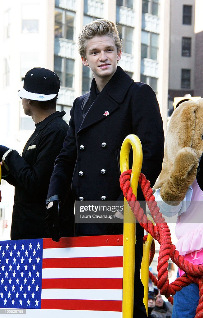 Cody Simpson attends the 86th Annual Macy's Thanksgiving Day Parade on November 22, 2012 in New York City.