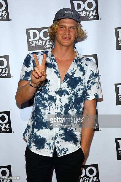 Cody Simpson attends the DoSomethingorg Spring Dinner 2015 at Capitale on June 11 2015 in New York City