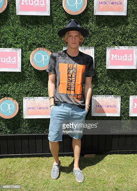 Cody Simpson attends The Music Lounge Presented By Mudd Op event on April 12 2015 in Palm Springs California