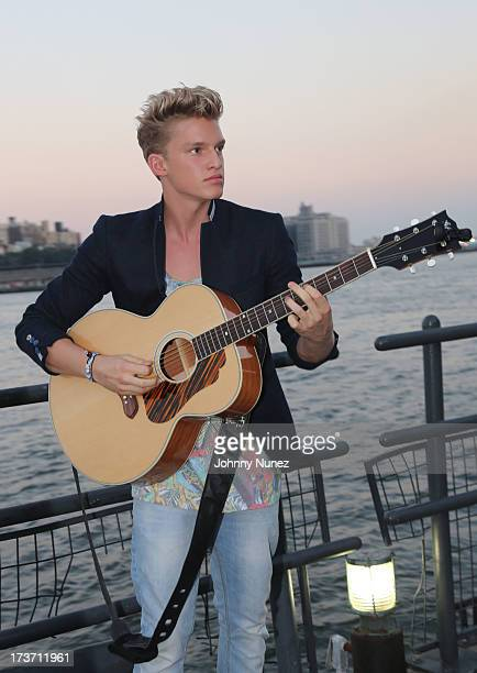 Cody Simpson attends the 'Surfer's Paradise' Album Release Party at Beekman Beer Garden Beach Club on July 16 2013 in New York City