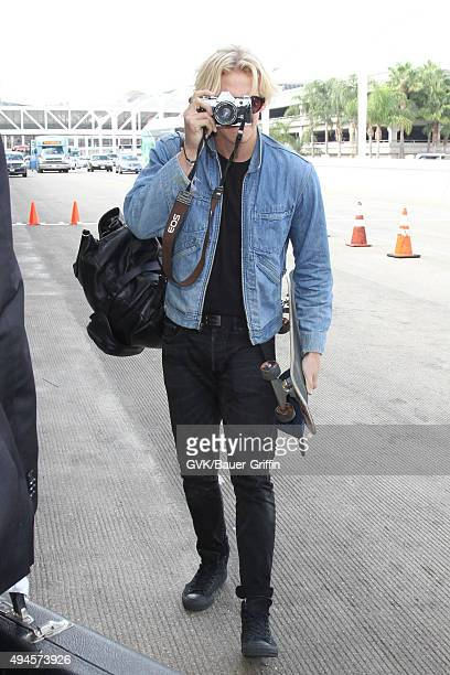 Cody Simpson is seen at LAX on October 27 2015 in Los Angeles California